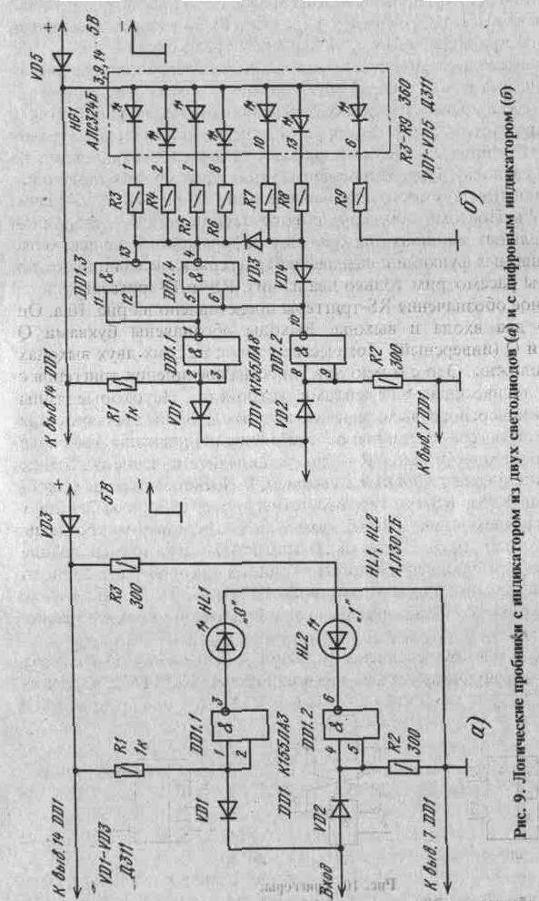 схеме на микросхемах КМОП,